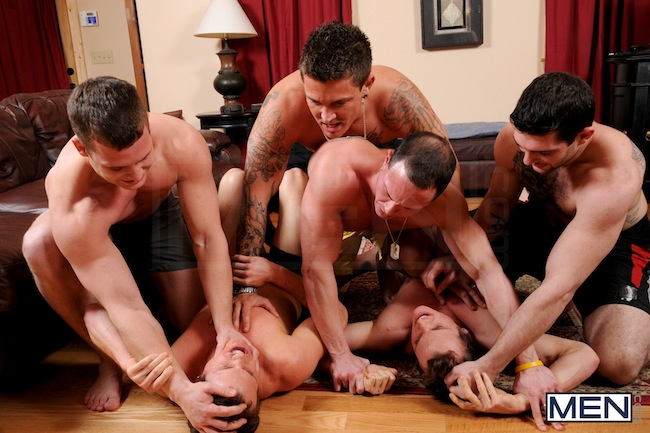 The Rosso Twins get gang fucked (4)