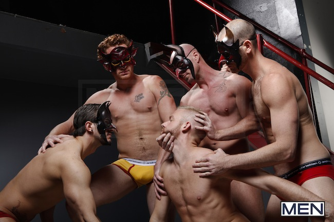 Jock Fetish Orgy (1)