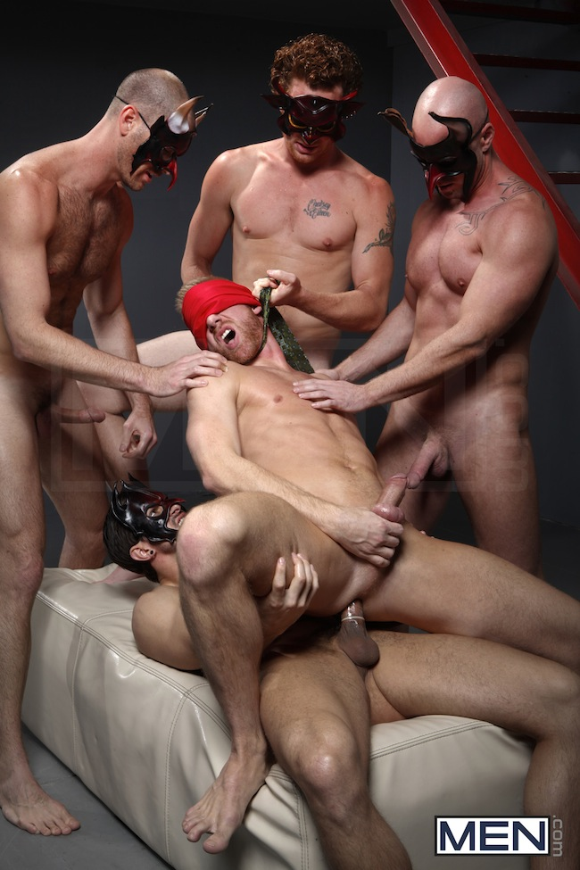 orgy gay fetish