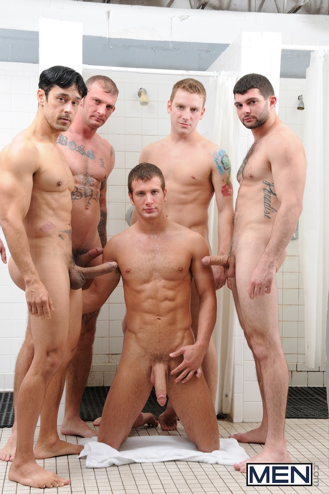 Gay Jocks In Shower