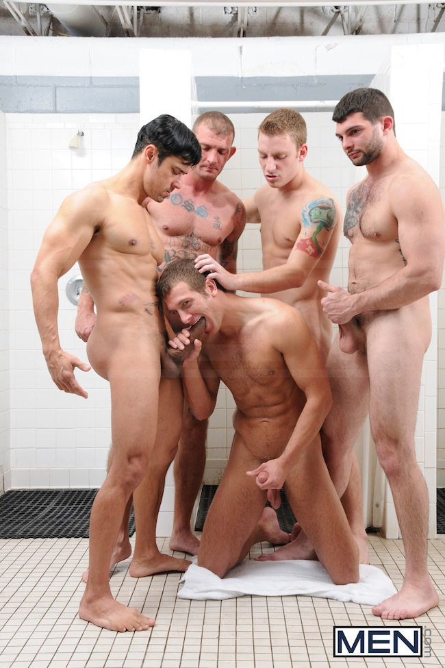 gay porn in lockeroom