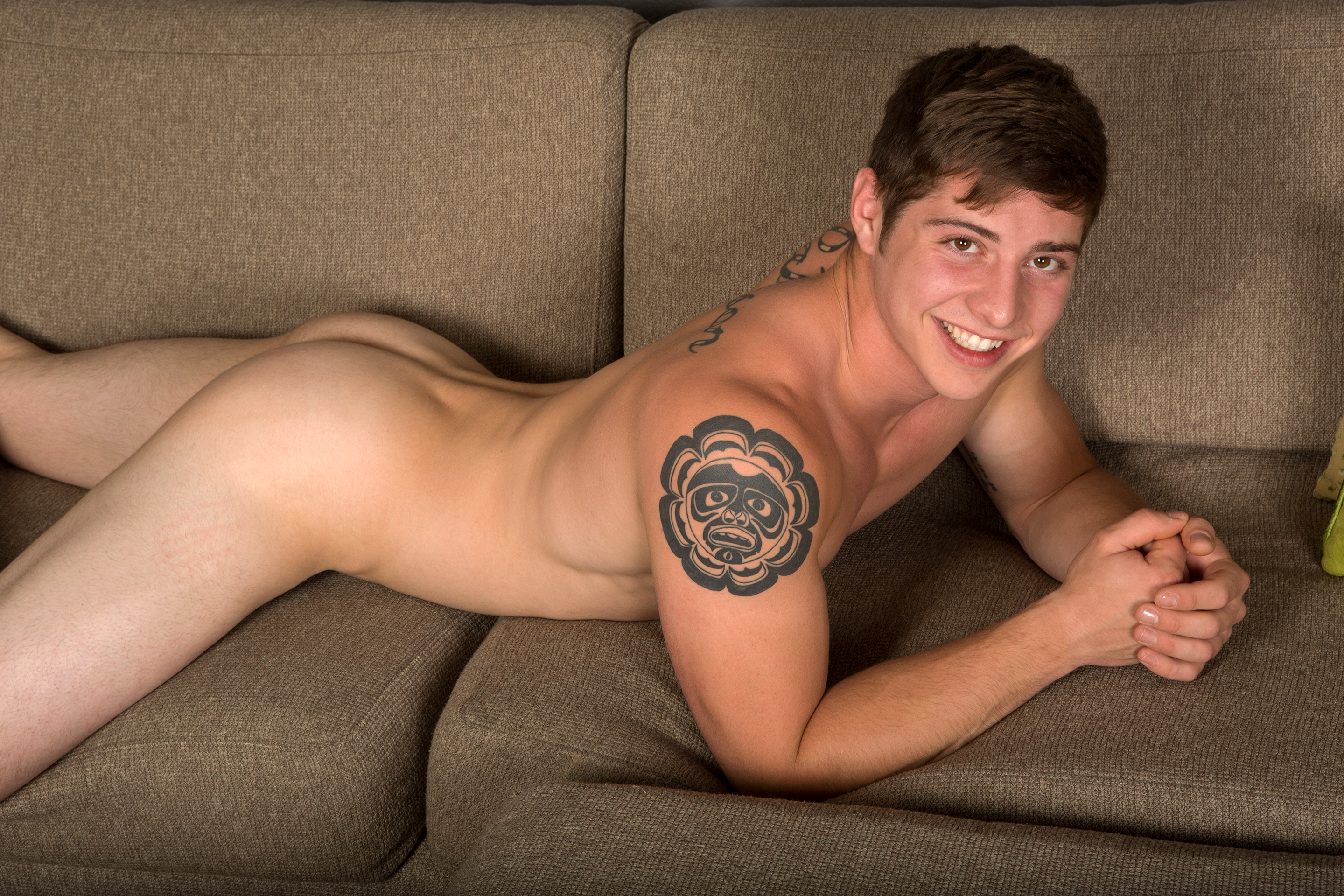 Jacking off with new jock Kristian 3