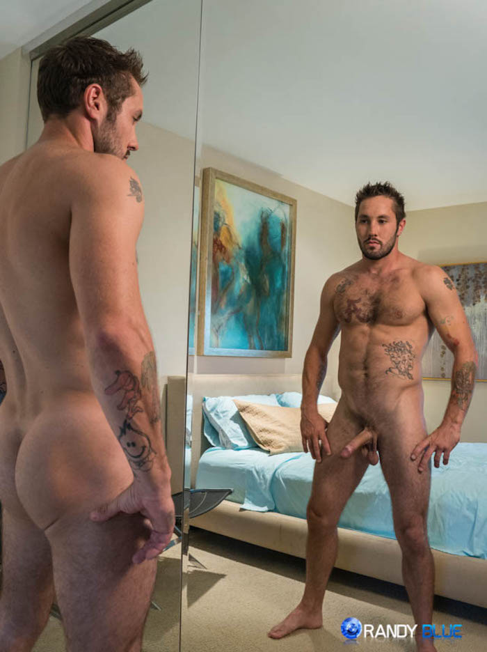Jeff Powers barebacks gay muscle guy Dominic Santos 2