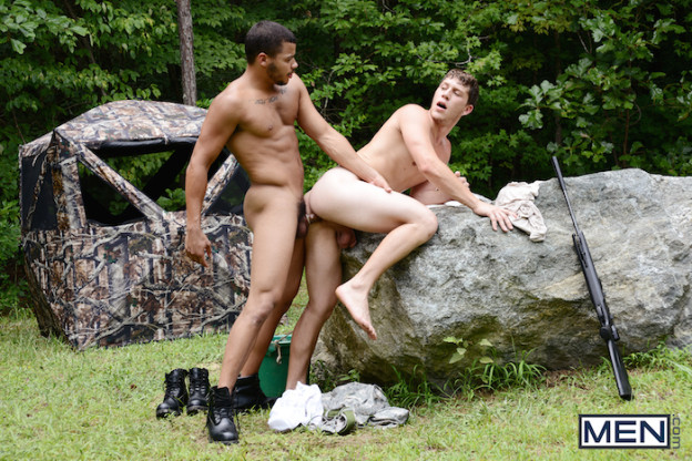 Outdoor gay fucking with Kaden Alexander and Paul Canon 6