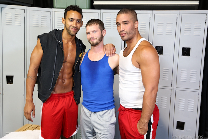 Competitive Big Dicks - Trey Turner & Jay Alexander & Asher Devin 1