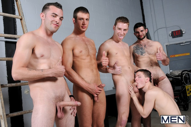 Muscle Boys Group Fuck (4)