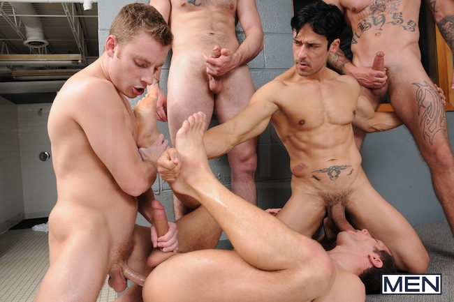 gay locker room fuck