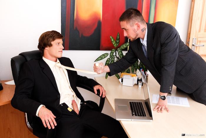 Office Twinks 05 - Bob Nesta & Lucky Taylor 1